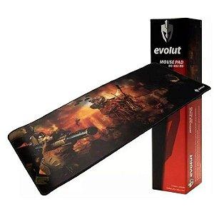 MOUSE PAD EG-402 GAMER 700X300MM EVOLUT BOX