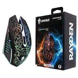 MOUSE USB GAMER EG-104 RAYDEN 2400 DPI EVOLUT BOX