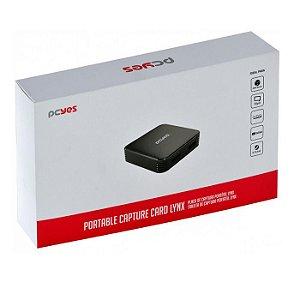 PLACA DE CAPTURA PORTATIL UHD-01S LYNX PCYES BOX