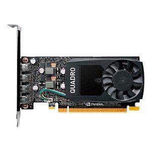PLACA DE VIDEO 2GB QUADRO P620 P620 VCQP620V2-PB GDDR5 128 BITS GEFORCE MINI DP *4 PNY BOX