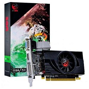PLACA DE VIDEO 4GB PCIEXP GT 730 PA7304DR564LP 64BITS GDDR5 LP PCYES BOX