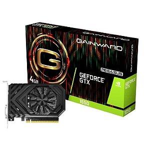 PLACA DE VIDEO 4GB PCIEXP GTX 1650 NE51650006G1-1170F 128BITS GDDR5 GEFORCE PEGASUS HDMI DVI-D GAINWARD BOX