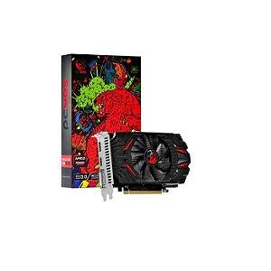 PLACA DE VIDEO 4GB RX 550 PJR550X4GB GDDR5 128 BITS GEFORCE VGA HDMI DVI-D PCYES BOX