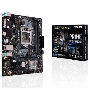 PLACA MAE 1151 MICRO ATX H310M-E R2.0/BR PRIME DDR4 VGA/HDMI USB 3.0 ASUS BOX
