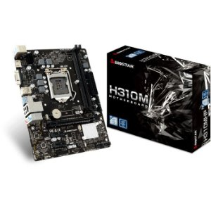 PLACA MAE 1151 MICRO ATX H310MHP DDR4 BIOSTAR BOX