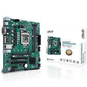 PLACA MAE LGA 1200 MICRO ATX H410M-C/CSM PRO DDR4 VGA/HDMI/DVI-D USB 3.0 ASUS BOX