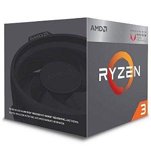 PROCESSADOR AM4 RYZEN 3 2200G 3.70GHZ 6 MB CACHE AMD BOX