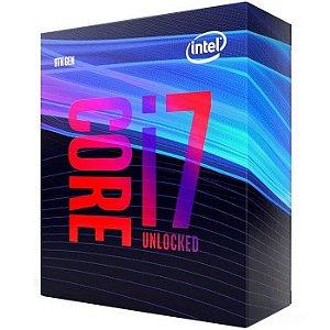 PROCESSADOR CORE I7 1151 9700K 3.6 GHZ 12 MB CACHE COFFEE LAKE S/COOLER INTEL BOX