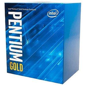 PROCESSADOR LGA 1200 PENTIUM G6400 4.0GHZ GOLD 4 MB CACHE BX80701G6400 INTEL BOX