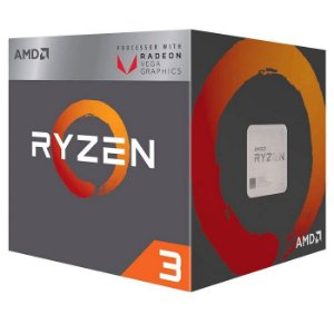 PROCESSADOR RYZEN 3 AM4 2200G 3.7 GHZ 6 MB CACHE C/COOLER AMD OEM