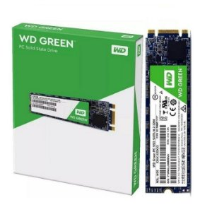 SSD 120GB M.2 WDS120G2G0B WD GREEN WESTERN DIGITAL BOX