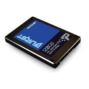 SSD 120GB SATA III PBU120GS25SSDR BURST PATRIOT BOX