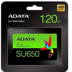 SSD 120GB SATA III SU650 ASU650SS-120GT ADATA BOX