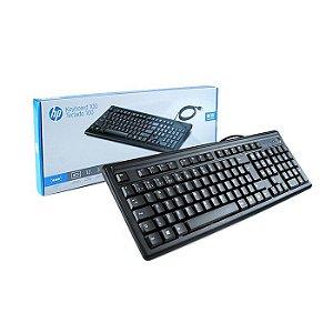 TECLADO USB 2UN30AAAC4 HP 100 ABNT2 HP BOX
