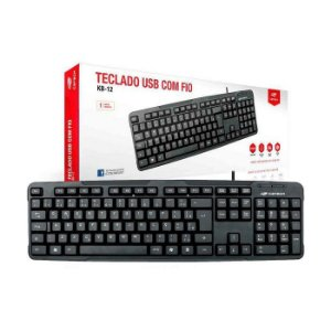 TECLADO USB KB-12BK C3TECH BOX
