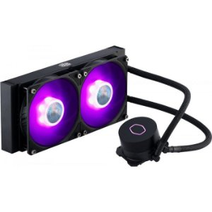 WATER COOLER UNIVERSAL MLW-D24M-A18PC-R2 240MM RGB ML240L V2 COOLER MASTER BOX