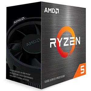 PROCESSADOR AM4 RYZEN 5 5600X 3.7 GHZ 35MB CACHE AMD BOX