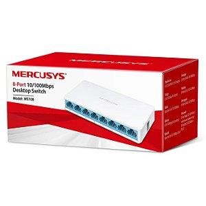 SWITCH 8P 10/100 MS108 MERCUSYS BOX