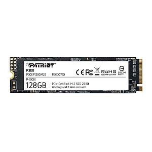 * SSD 128GB NVME M.2 P300 P300P128GM28 PATRIOT BOX
