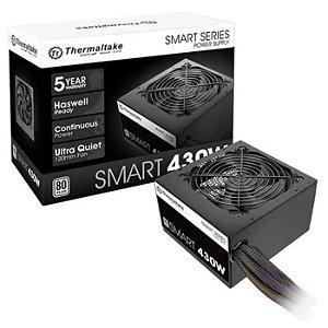 * FONTE ATX 430W PS-SPD-0430NPCWBZ-W PFC ATIVO 80 PLUS WHITE SMART THERMALTAKE BOX