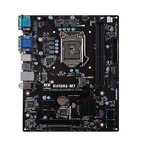 * PLACA MAE LGA 1200 MICRO ATX H410H6-M7 DDR4 HDMI/DVI-D USB 3.0 ECS BOX