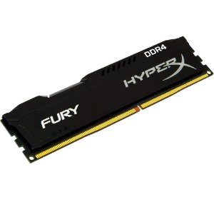 MEMORIA 4GB DDR4 2400 MHZ HYPERX BLACK FURY HX424C15FB/4 KINGSTON