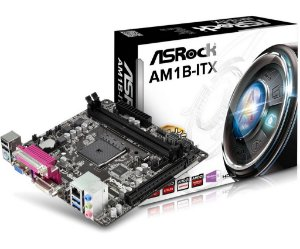 PLACA MAE AM1 MINI-ITX AM1B-ITX DDR3 ASROCK