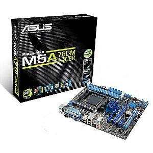 PLACA MAE AM3 MICRO ATX M5A78L-M LX/BR DDR3 ASUS