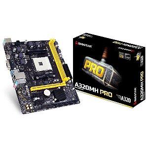 PLACA MAE AM4 MICRO ATX A320MH PRO DDR4 VGA/HDMI BIOSTAR