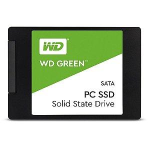 SSD 120GB SATA III WDS120G1G0A-00SS50 WD GREEN WESTERN DIGITAL