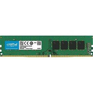 MEMORIA 8GB DDR4 2400 MHZ CT8G4DFS824A 8CP DESKTOP CRUCIAL