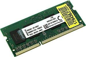 MEMORIA 2G DDR3 1600 MHZ NOTEBOOK KVR16LS11S6/2 KINGSTON