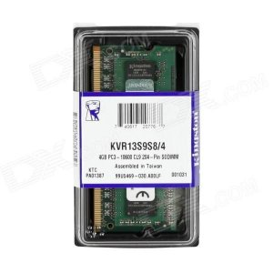 MEMORIA 4GB DDR3 1333 MHZ KVR13S9S8/4 NOTEBOOK KINGSTON