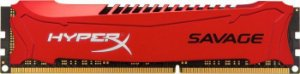 MEMORIA 4GB DDR3 1600 MHZ HYPERX SAVAGE HX316C9SR/4 VERMELHO KINGSTON