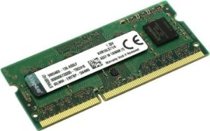 MEMORIA 4GB DDR3L 1600 MHZ NOTEBOOK KVR16LS11/4 8CP KINGSTON