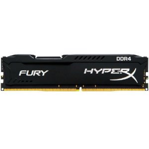 MEMORIA 4GB DDR4 2133 MHZ FURY HYPERX HX421C14FB/4 NOM-ECC CL14 DIMM PRETO KINGSTON