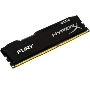 MEMORIA GAMING 8GB DDR4 2400MHZ FURY HYPERX  KINGSTON