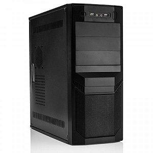 GABINETE 4 BAIAS MCA-45M1109/BK ATX 230W C/FONTE 24P 2 SATA USB/AUDIO/CABO PTO MYMAX