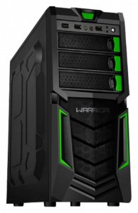 GABINETE 3 BAIAS GA139 GAMER WARRIOR SEM FONTE MULTILASER