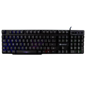 TECLADO USB TPC-061 BACKLIGHT GAMER C/ LED HOOPSON