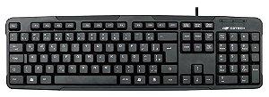 TECLADO USB KB-12BK C3TECH