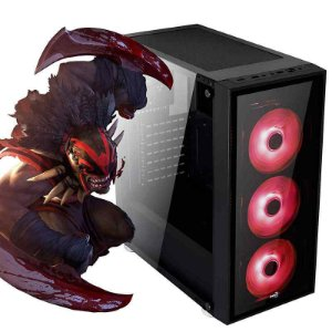 PC GAMER BURST  ATX QUARTZ RGB - DOTA 2