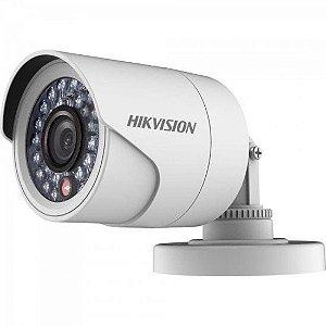 Câmera Bullet Flex(4 em 1) HDTVI 2,8mm 20M 1MP 720P IP66 Plastico DS-2CE16C0T-IRPF HIKVISION