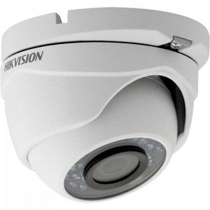 Camera Dome HDTVI 2,8mm 20M 2MP 1080P IP66 Plastico DS-2CE56D0T-IRP HIKVISION