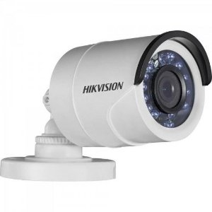 Camera Bullet Flex (4 em 1) HDTVI 2,8mm 20M 1MP 720P IP66 Plastico DS-2CE16C0T-IRF HIKVISION
