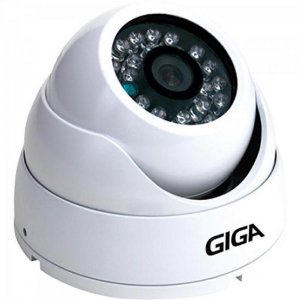 Camera Dome 2,6mm Infra 30m 720P OPEN HD (4 em 1) GS0015 Branco GIGA