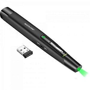Apresentador Laser Wireless AC278 Preto MULTILASER