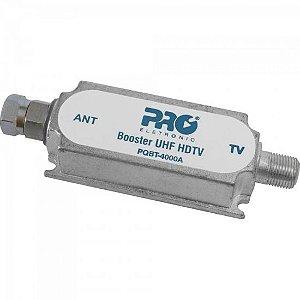 Booster Digital VHF/UHF 40db PQBT4000A PROELETRONIC