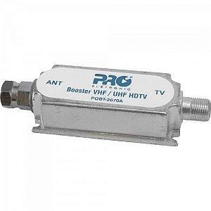 Booster Digital VHF/UHF PQBT2670A PROELETRONIC