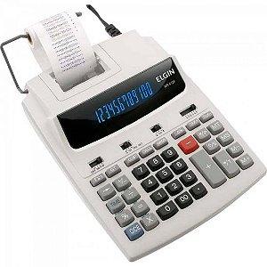 Calculadora C/Bobina Bicolor MR6124 Branco ELGIN